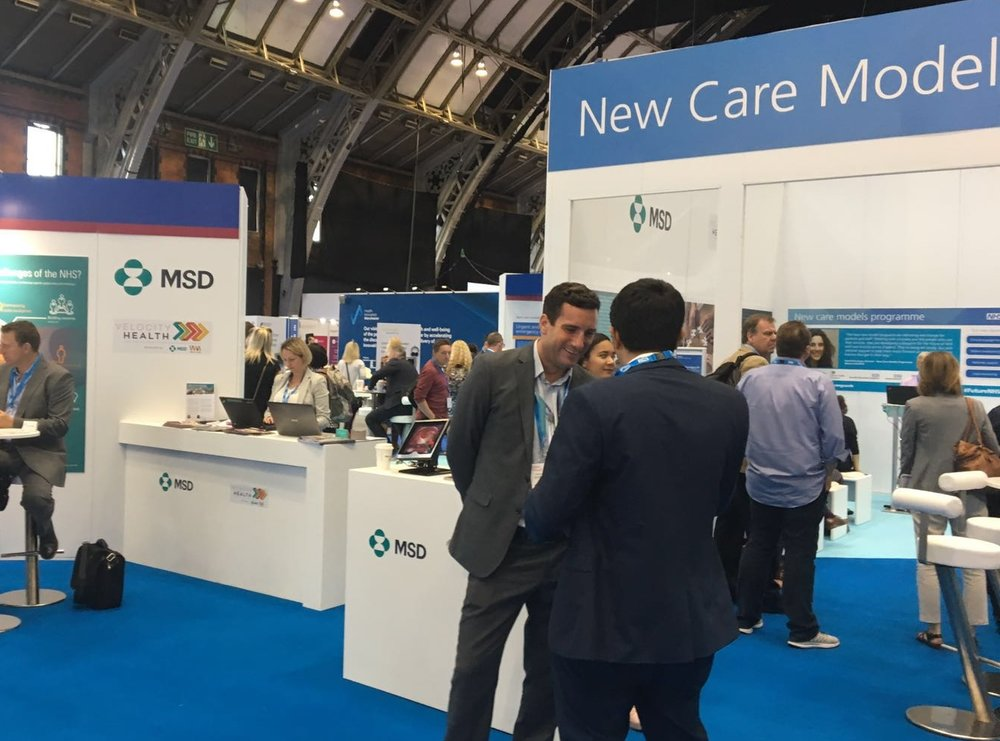 New Care Models Zone at the Health and Care Innovation Expo 2016