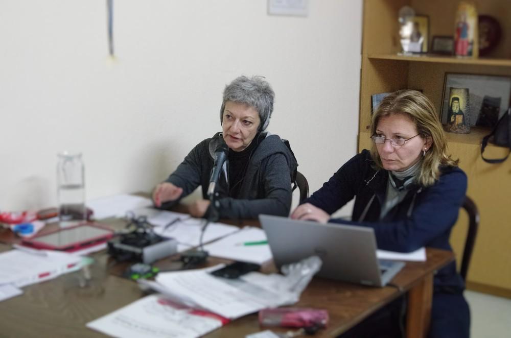 Die Dolmetscherinnen des Forums