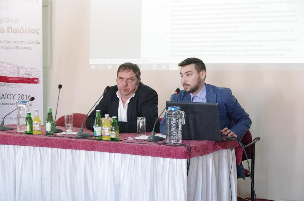 Präsentation der Ergebnisse der Konferenz