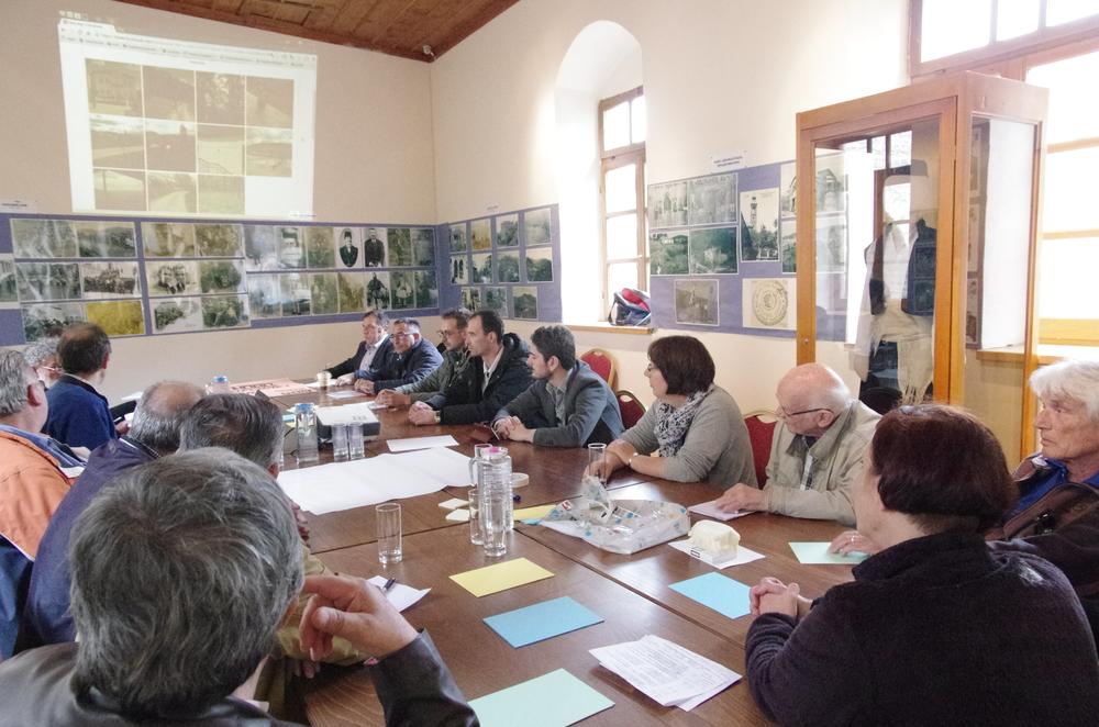 """Workshop von Vassilis Katsionis und Anja Hack zum Thema """"Kulturhistorischer Tourismus"""""""