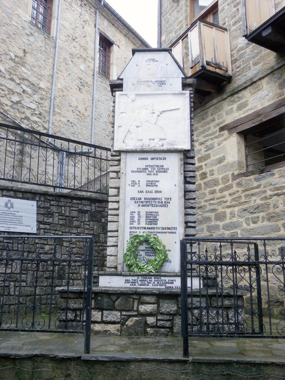 Denkmal in Lechovo