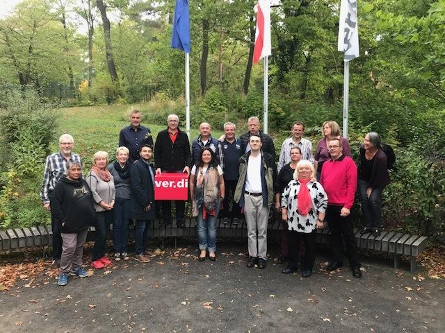 Seminarbesucher im Bildungs- und Begegnunszentrum Clara Sahlberg, ver.di, 21.10.2018, Berlin Wannsee
