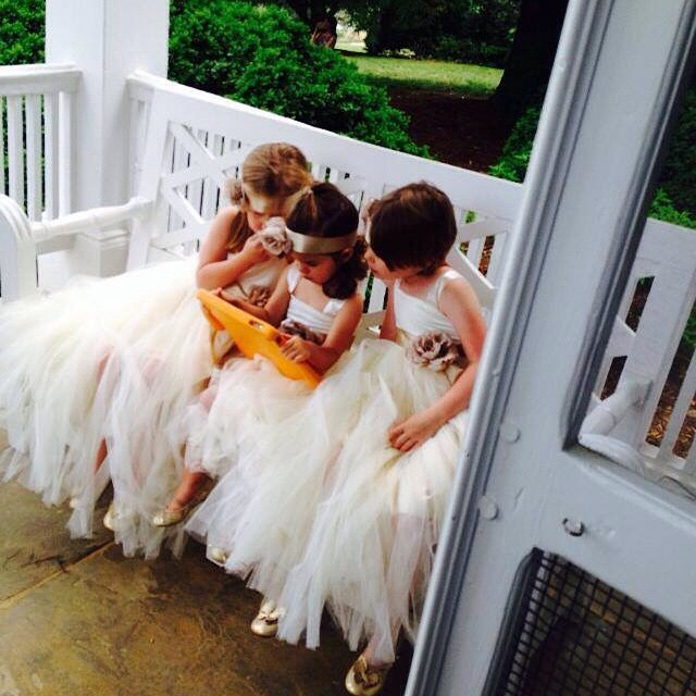 Keeping the kiddies occupied last summer. #weddings #weddingsinthecountry #charlottesvilleweddings #lynchburgweddings #bridesmaids #venue #weddingvenue #farmwedding