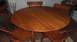 """48"""" Cherry Round Table"""
