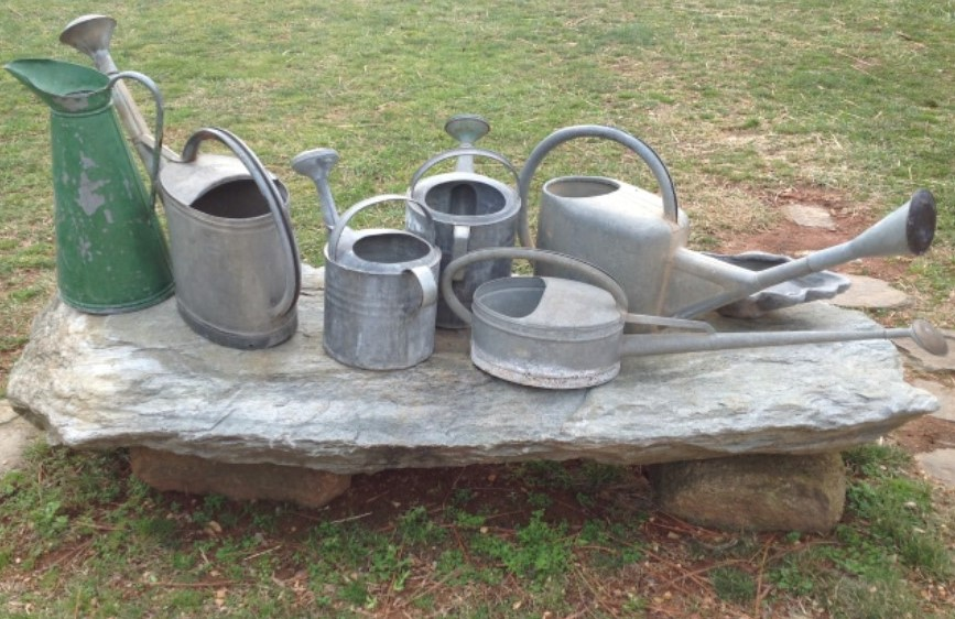 Assorted Vintage Watering Cans