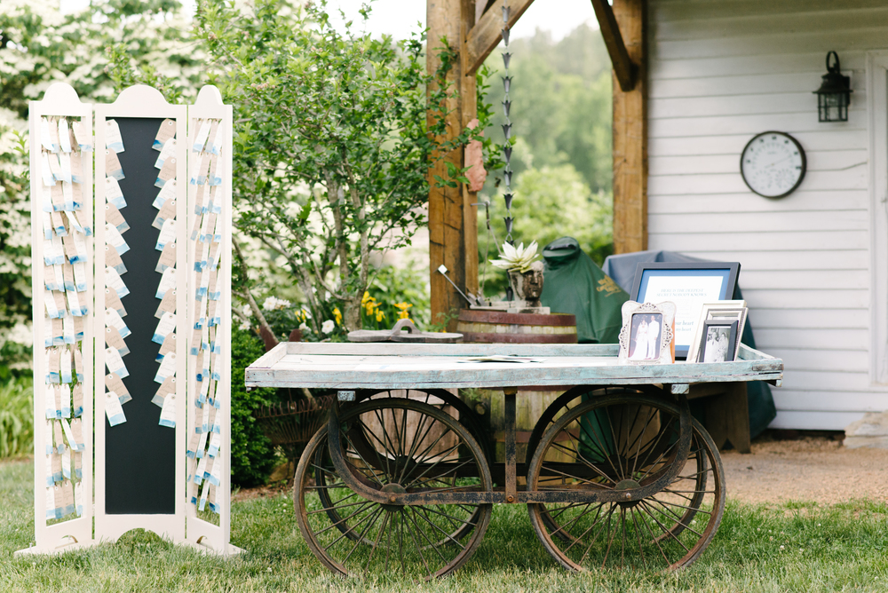 blue cart with escort cards.jpg