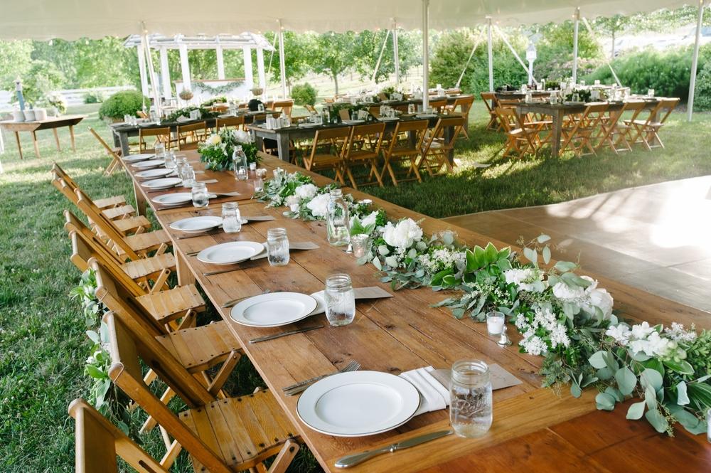Hearpine, Cherry, Walnut and Oak Farm Tables