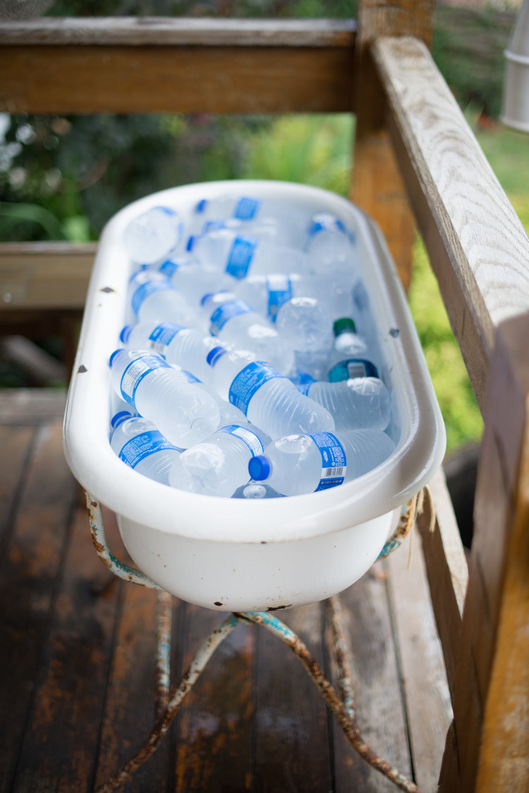 Vintage Baby Bathtub $20, great for cold drinks!