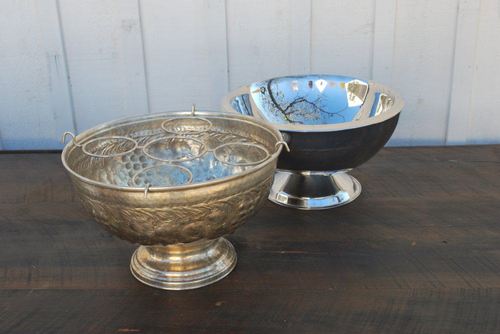 Silver Ice Bowl $10, 2 available