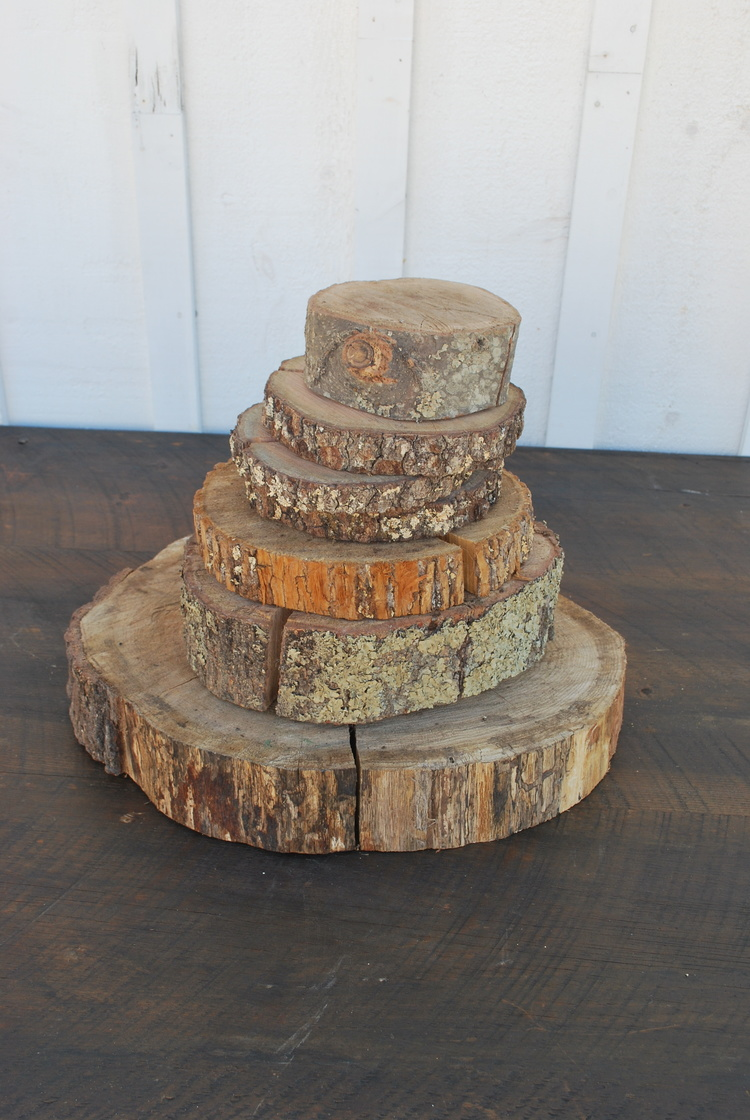 Assorted Wood Slices $5, plenty available in many sizes