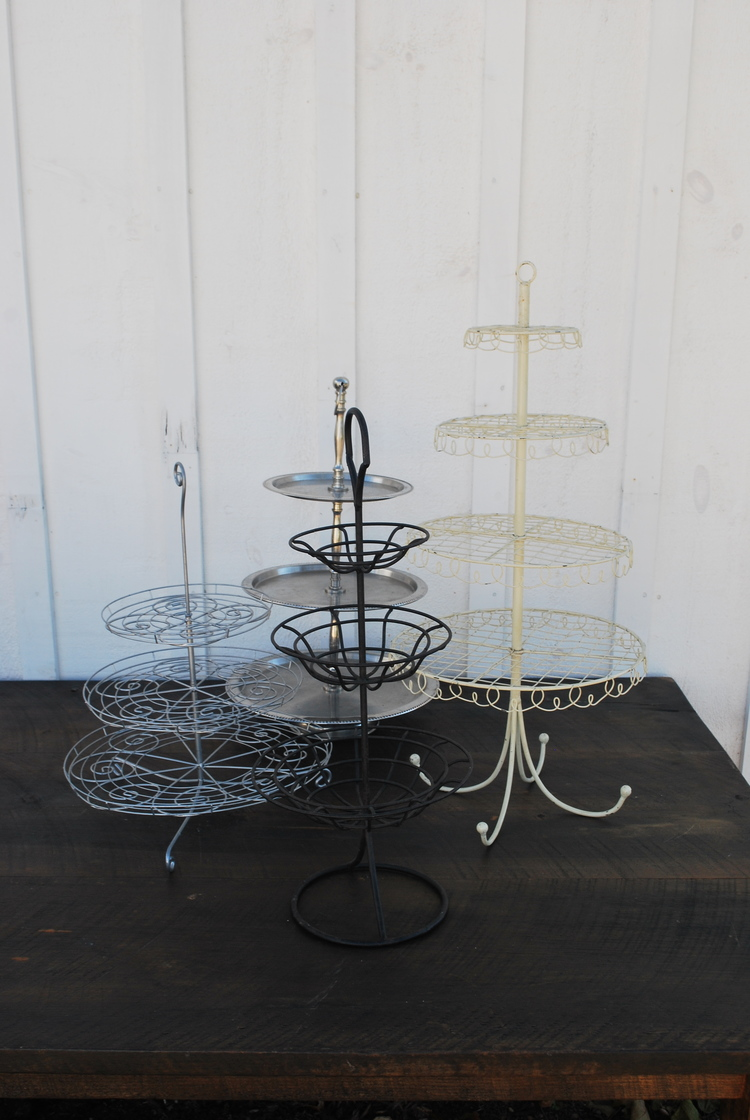 Dessert Stands $10, 6 available