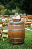 Wine Barrel $20, 12 available Great as cocktail tables!