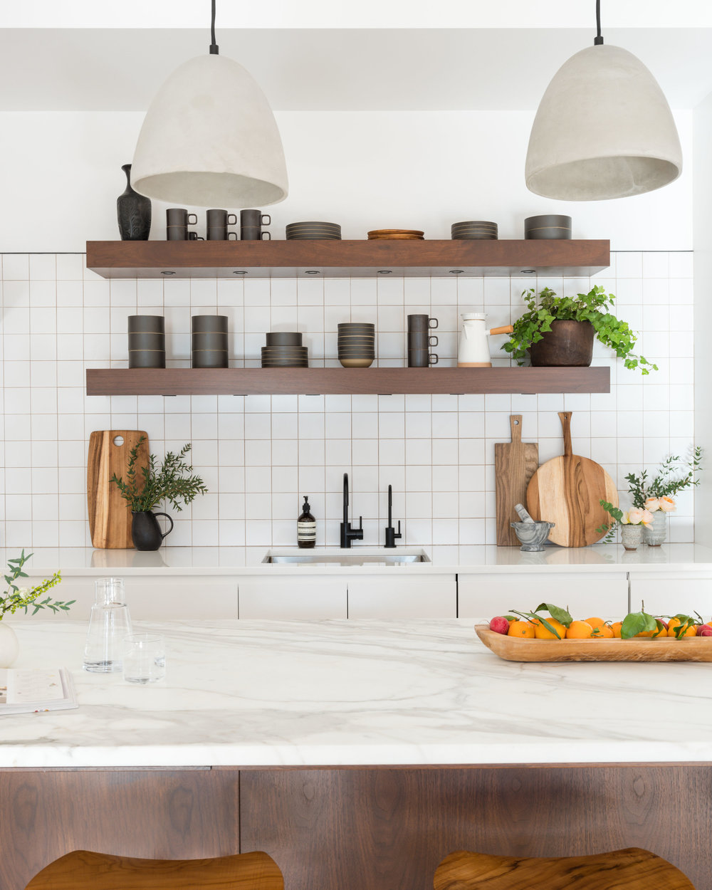 We equipped our Soho loft with a water filtration system from California Faucets