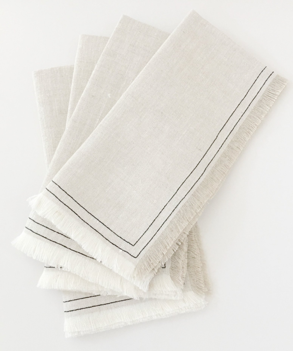 Organic Linen Napkins