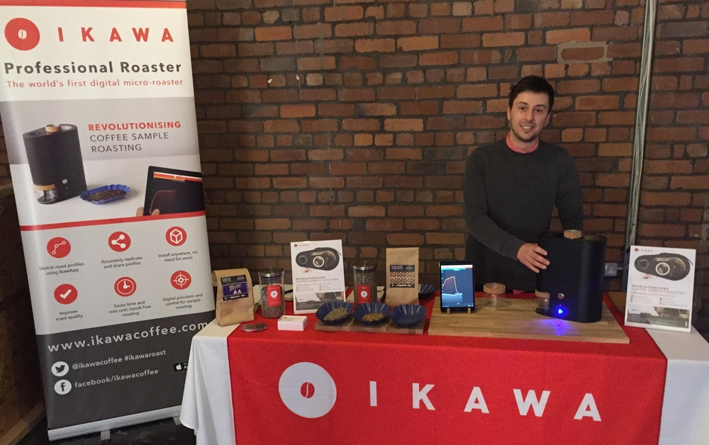 The calm before the storm! IKAWA stand at Cup North before the doors opened!