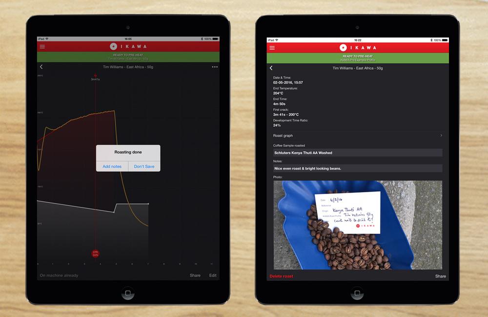 Roast Log IKAWA Pro App summary tile.jpg
