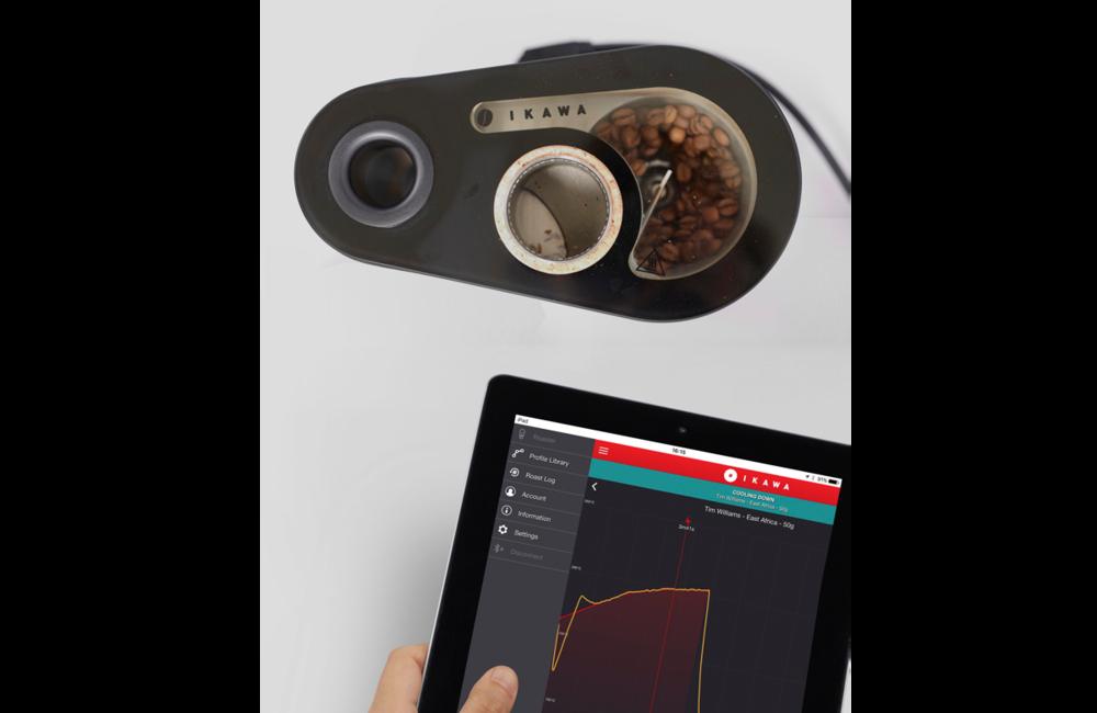 IKAWA Coffee Pro  Sample Roaster and App