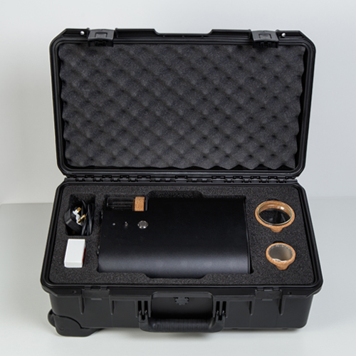 IKAWA Pro Sample Roaster custom PELI Case open.jpg