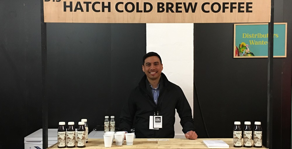 Alfonso at London Coffee Festival