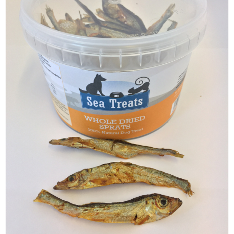 Whole Dried Sprats - £7.99