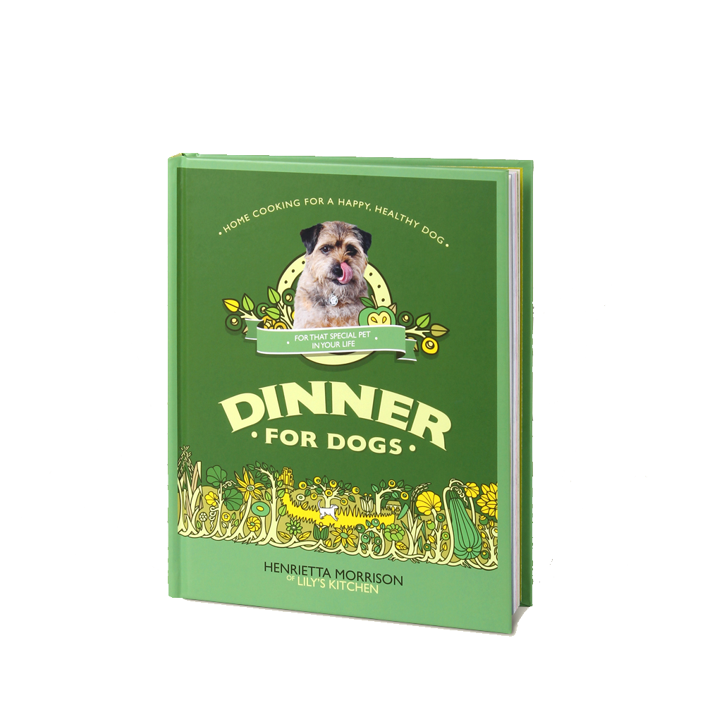 Dinner For Dogs Book - £12.00
