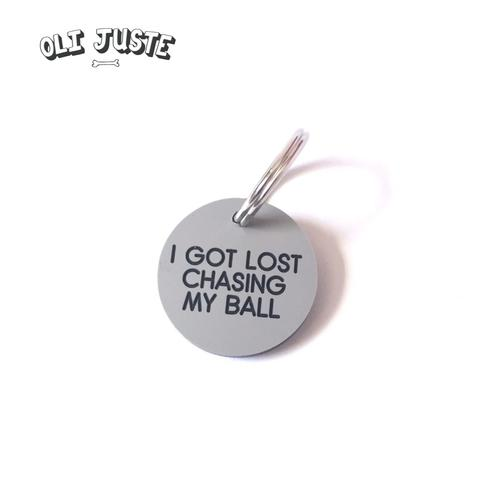 Lost Chasing Ball ID Tag - £7.00