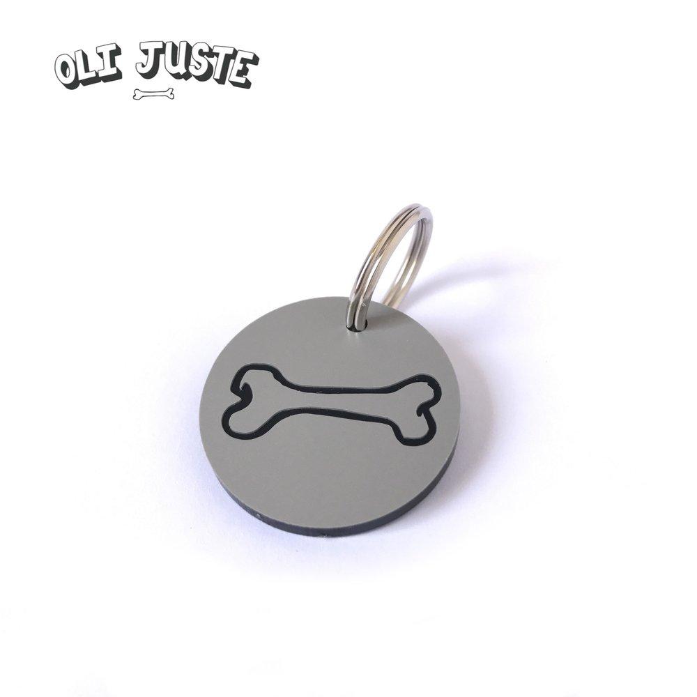 Oli Juste Bone Acrylic Tag - £8.00