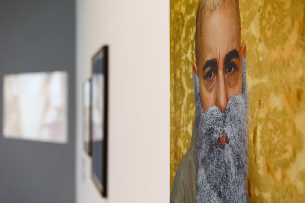 Jessica Voorsanger, Claude Monet (from the Bald Series) 2013, shown in Liberties 2015 and 2016.