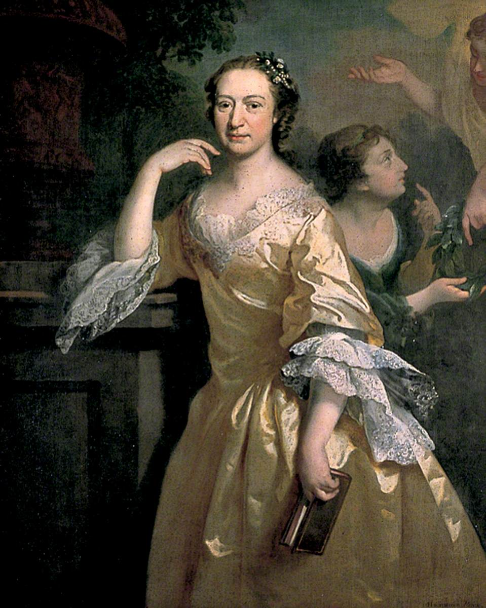 Elizabeth Carter  (16 December 1717 – 19 February 1806) by Joseph Highmore (1692–1780) Photo credit Deal Town Council