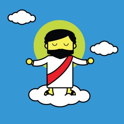 Jesús regresa al cielo