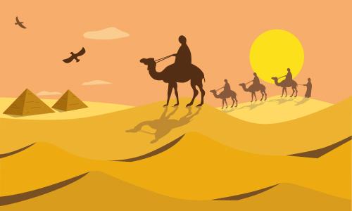 José es llevado a Egipto