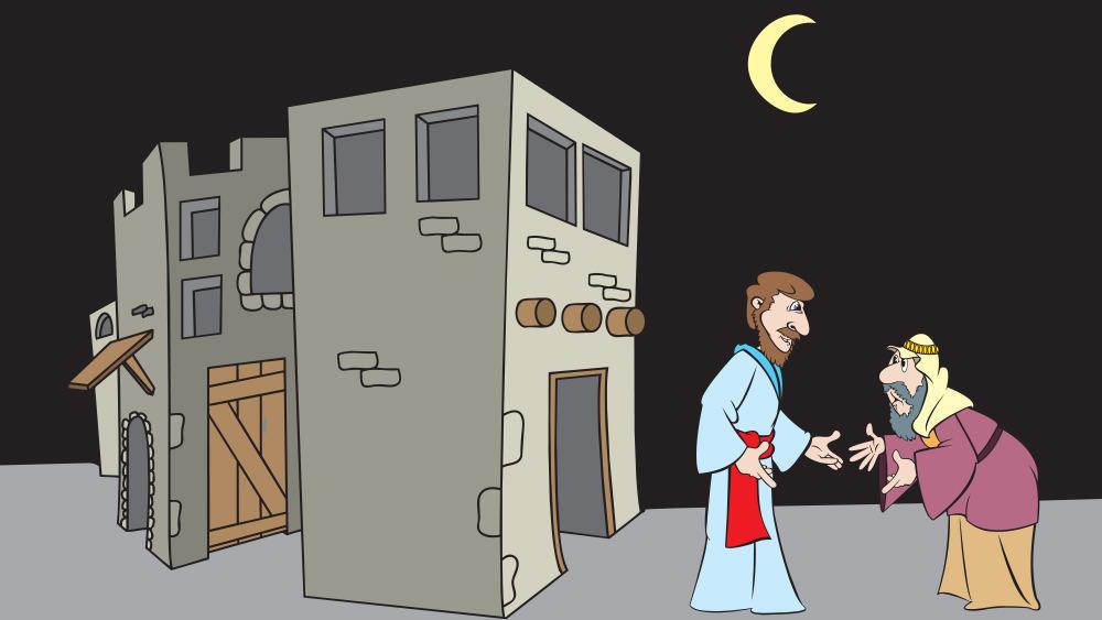 Lección 8: Una Visita en la Noche