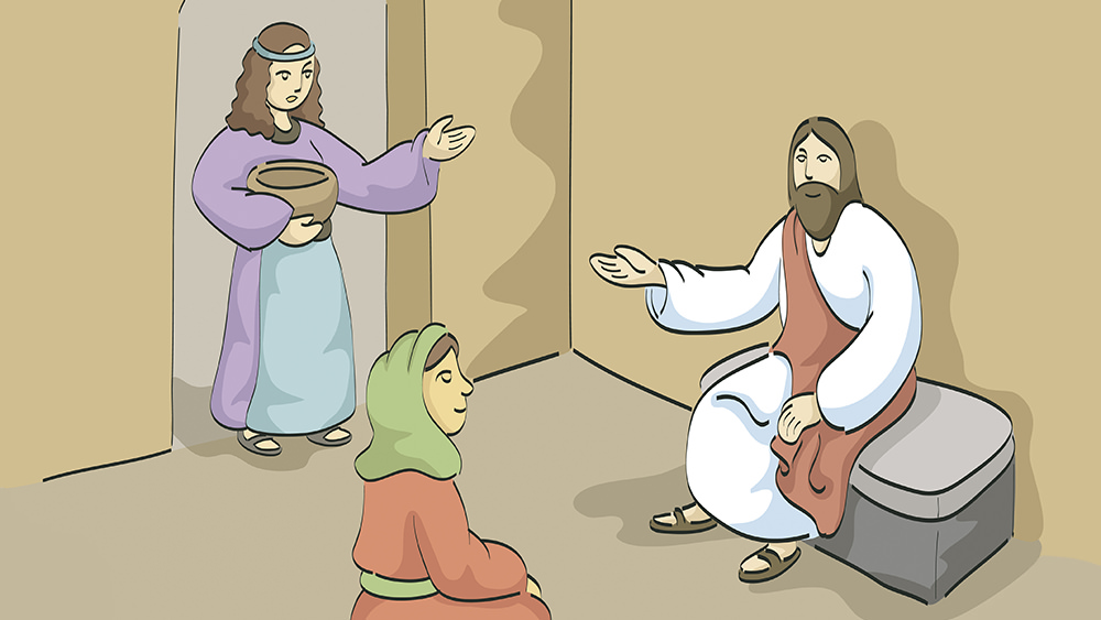 Lección 29: Dos Hermanas Sirven a Jesús