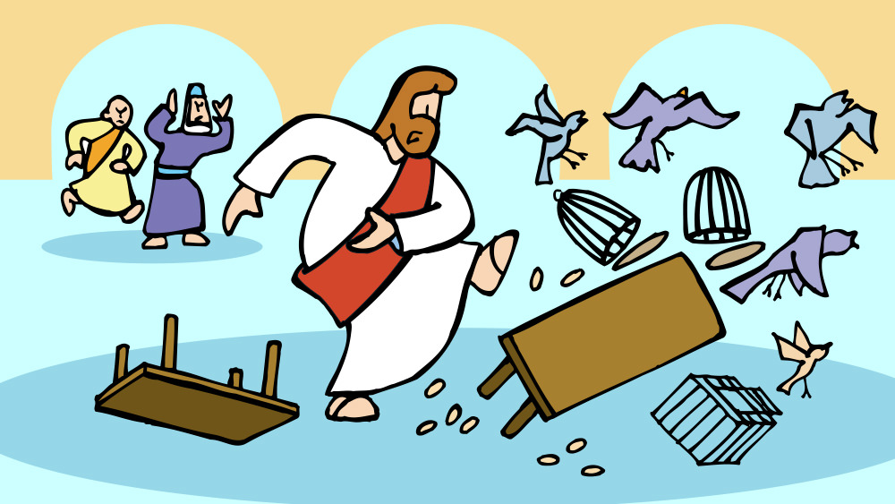 Lección 40: Jesús Purifica el Templo