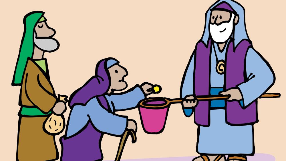 Lección 41: Una Mujer Pobre que Dio Más que los Ricos
