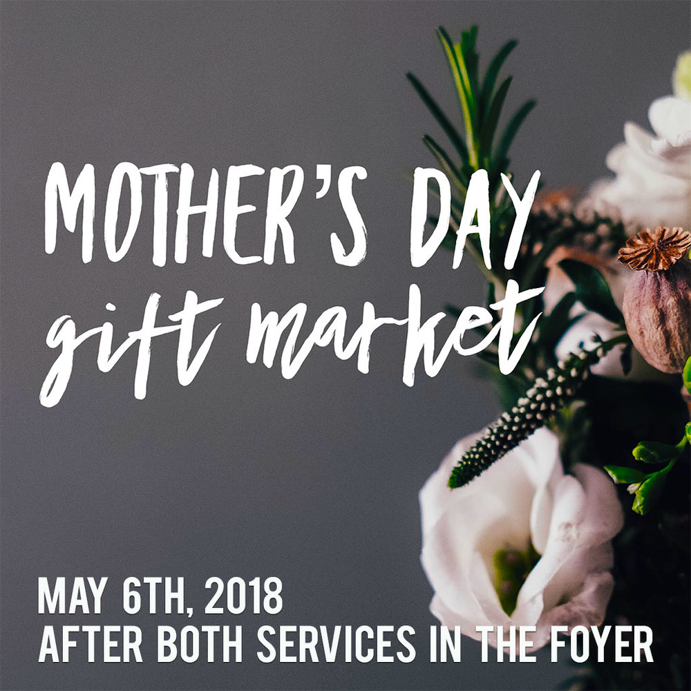 Plan to do all of your Mother's Day shopping in one place. Beautiful  baskets with a variety of gifts such as massages, hair cuts, manicures and restaurant gift cards, fun items, plants,  home decor and baked goods. All proceeds support Women of Purpose retreat scholarships and events.