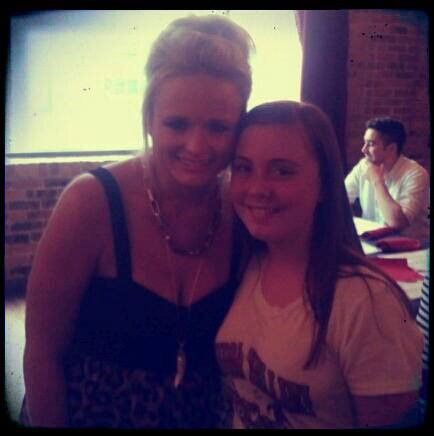 Mikayla Griffin with Country Superstar    Miranda Lambert
