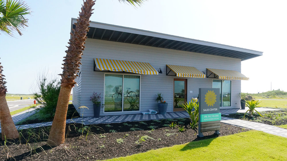 The Sunflower Beach Sales Gallery