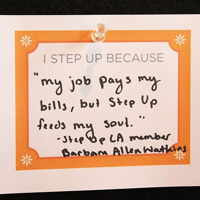 Find what feeds your soul-- find YOUR why. #repost from one of our four causes this year @stepupwomensnetwork 💛👏🏼✨