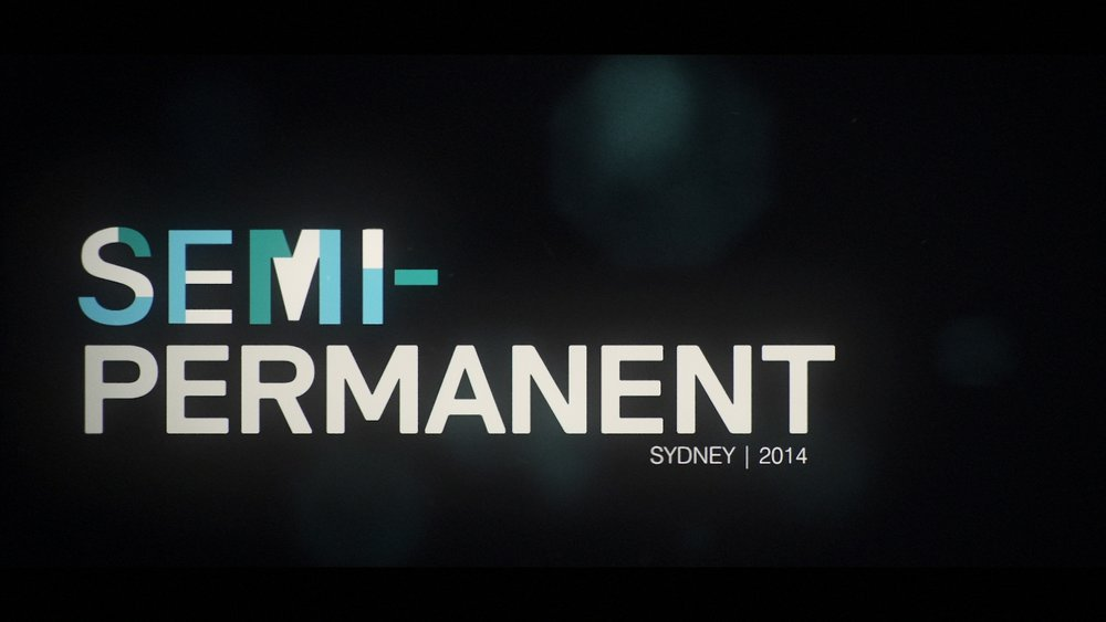 Art of the Title: Making of Semi-Permanent 2014  -