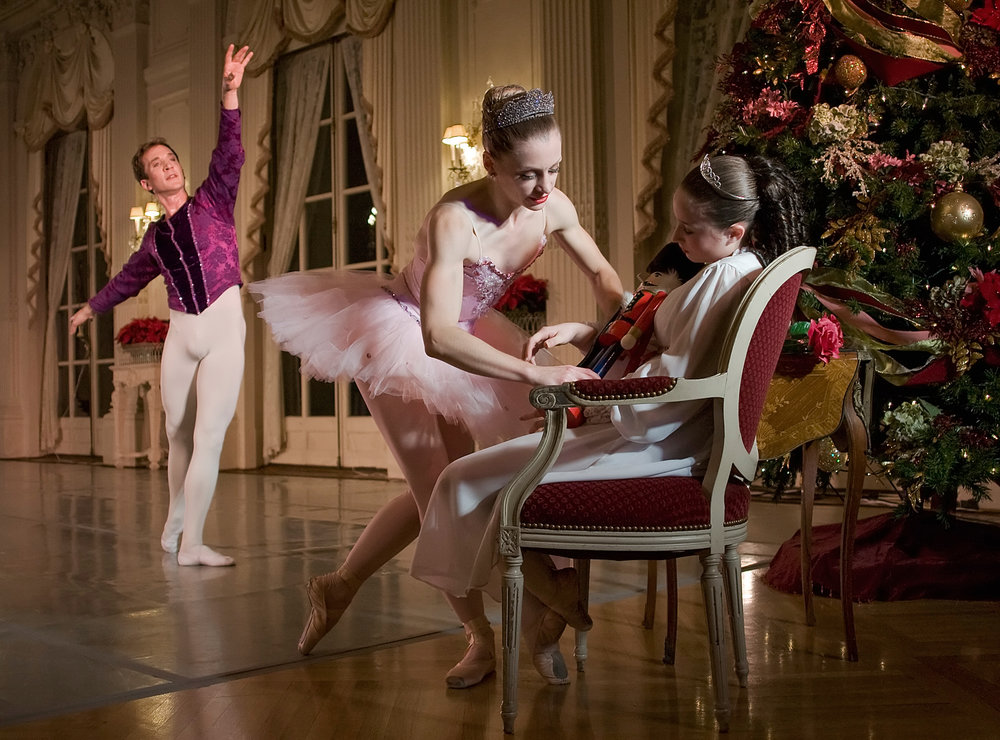 Nutcracker performance at Rosecliff
