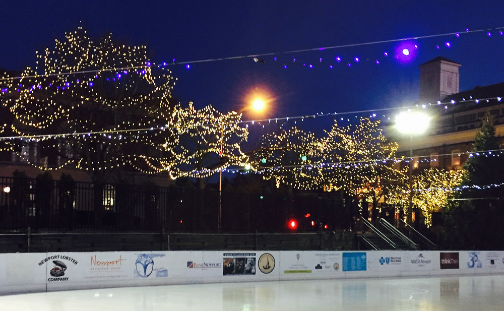 Photo courtesy of Newport Skating Center
