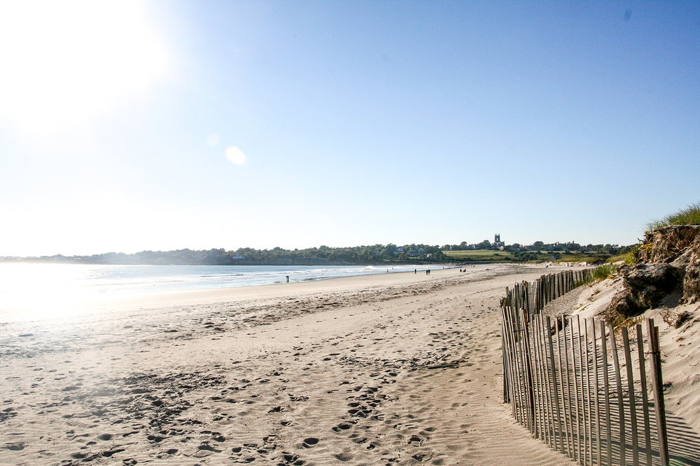 Sachuest Beach, Photo credit: Discover Newport.