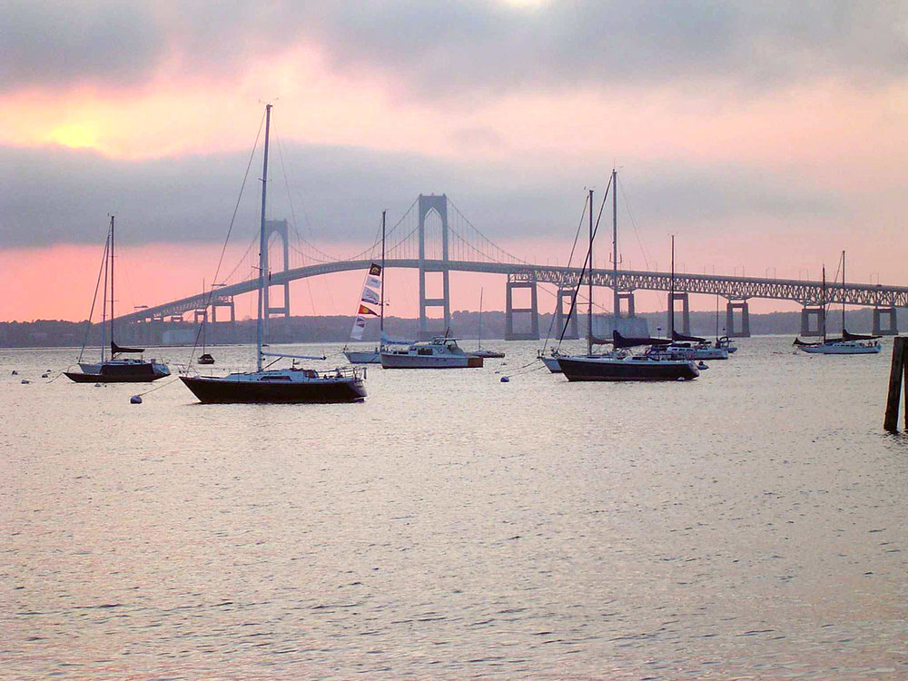 Newport Bridge-Sunset-Cliff Notes-The Chanler.jpg