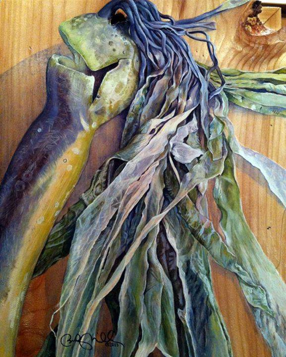 This painting is by Toledo artist Becky Miller. This beautiful work of art was painted on an OCCFA art panel made of Sitka Spruce. The piece sold almost immediately at the Ozone Art Gallery in Newport, and we can't thank Becky enough for being an early supporter. The Sitka Spruce came from Blue Agate Woods, a Local Woods participating forest owner. Art panels are one product Local Woods is exploring to manufacture.