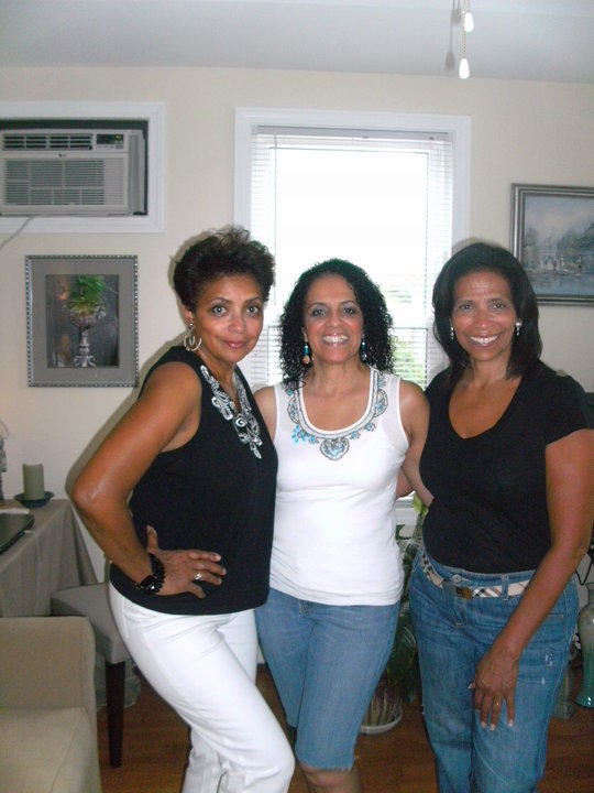My mom (middle) and two out of four of my beautiful aunts.60 plus and fly!