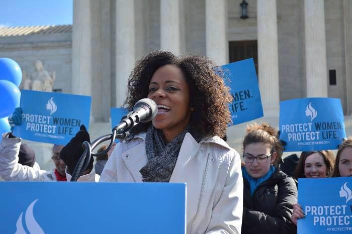 Standing for the protection and safety of women at the U.S Supreme Court