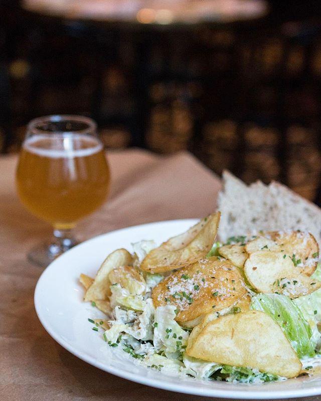 Pictured: Our favorite Caesar Salad!