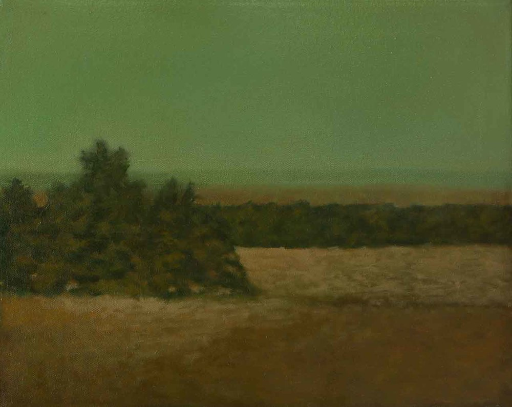 """Lower Pasture at Evening"""