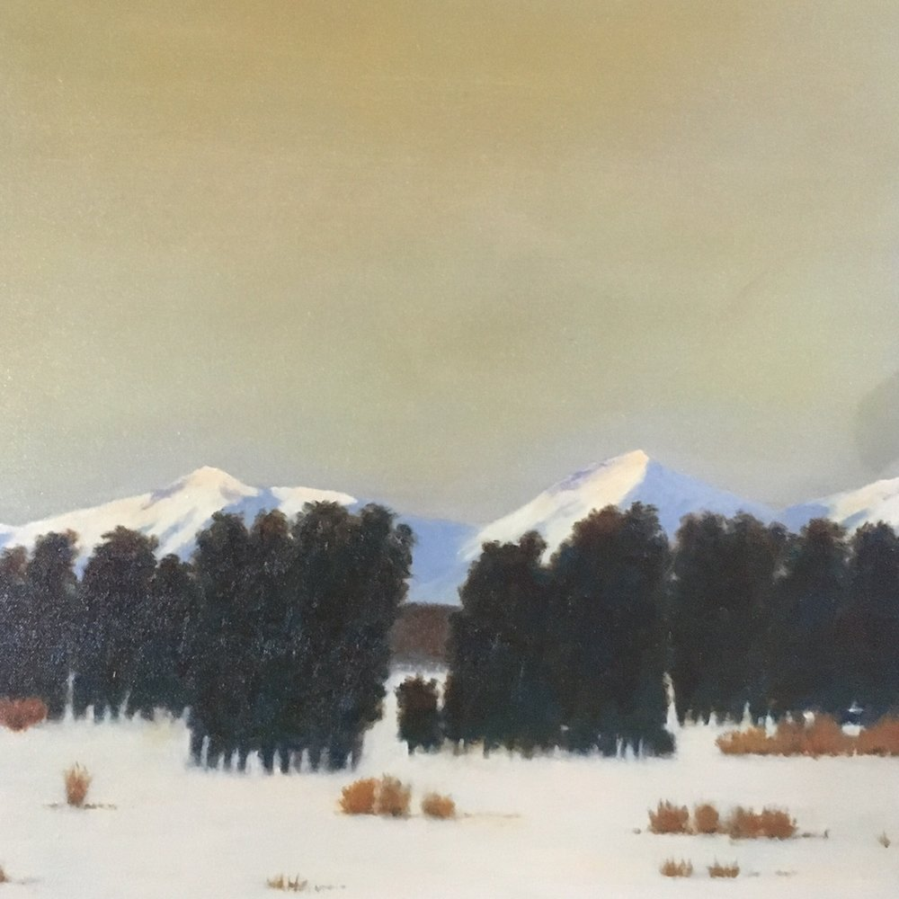 """January, Pine Creek Flat"""